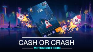 CASH OR CRASH เกมจรวดวัดใจ ได้เงินจริง
